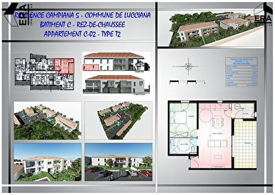 Programme neuf Lucciana 2 pièces 50 m2