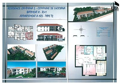 Programme neuf Lucciana 2 pièces 46 m2